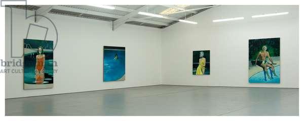 Jonathan Wateridge's studio (photo)