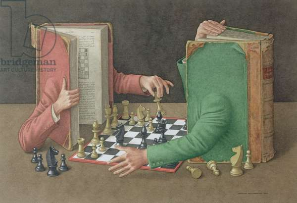 'Your Move', 2003 (w/c on paper)