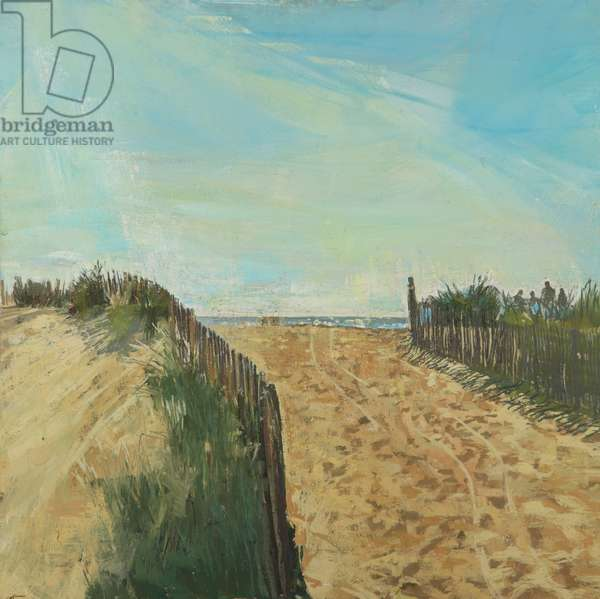 Pathway to the Beach, 2010 (oil on board)