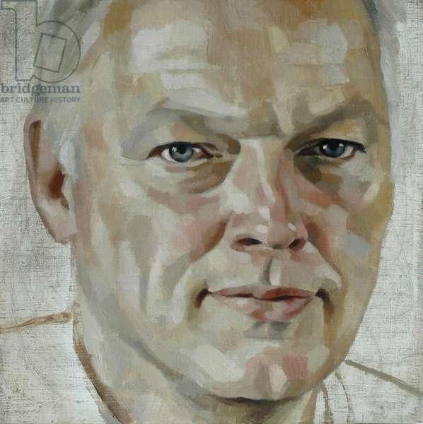 David Gilmour (Study), 2005 (oil on canvas)