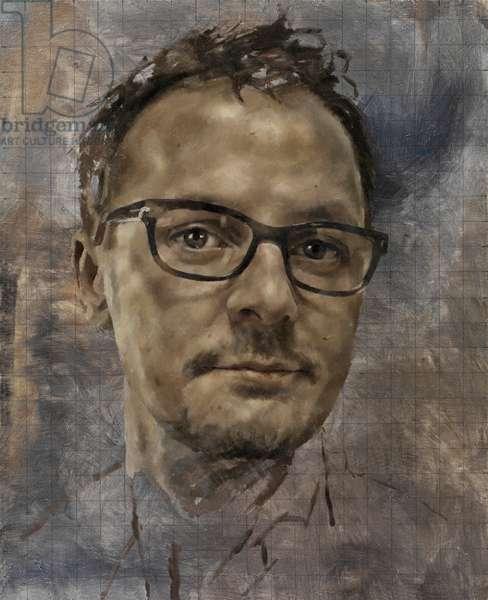Self Portrait 2012, 2012 (oil on canvas)