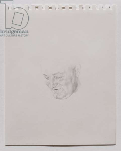 Charles Kennedy (Study), 2001 (pencil on paper)