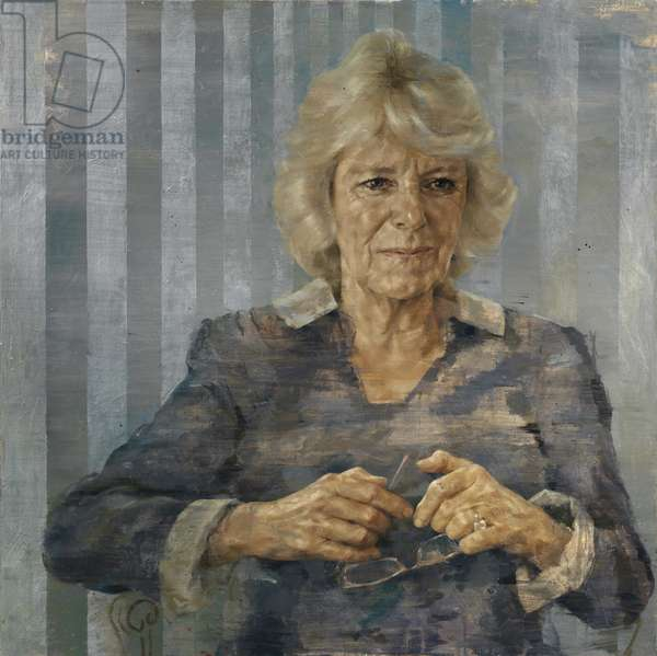 HRH Duchess of Cornwall, 2014 (oil on canvas)