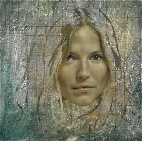 Sienna Miller, 2010 (oil on canvas)