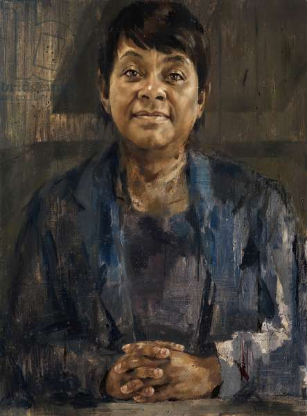 Baroness Doreen Lawrence, 2013 (oil on canvas)