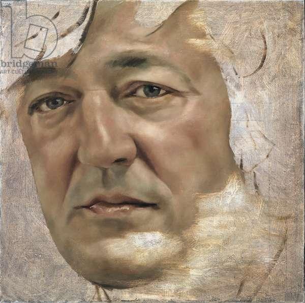 Stephen Fry, 2011 (oil on canvas)