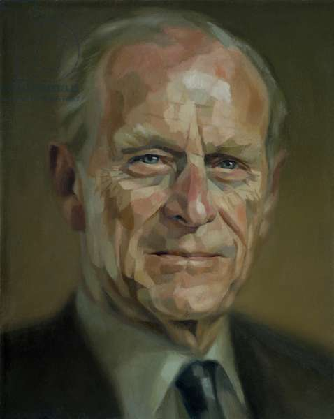 HRH Duke of Edinburgh, 2008 (oil on canvas)