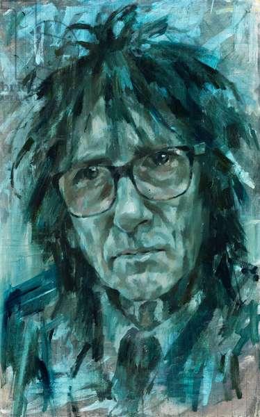 John Cooper Clarke, 2014 (oil on canvas)