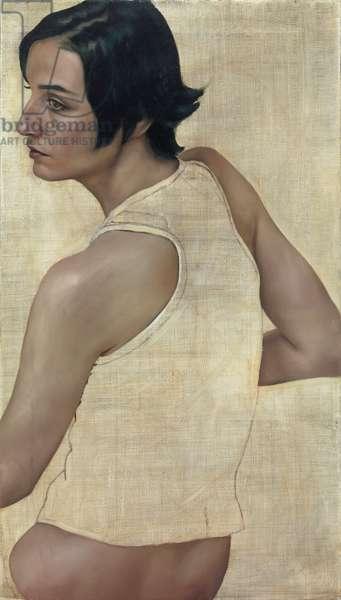 Erin O'Connor, 2004 (oil on canvas)