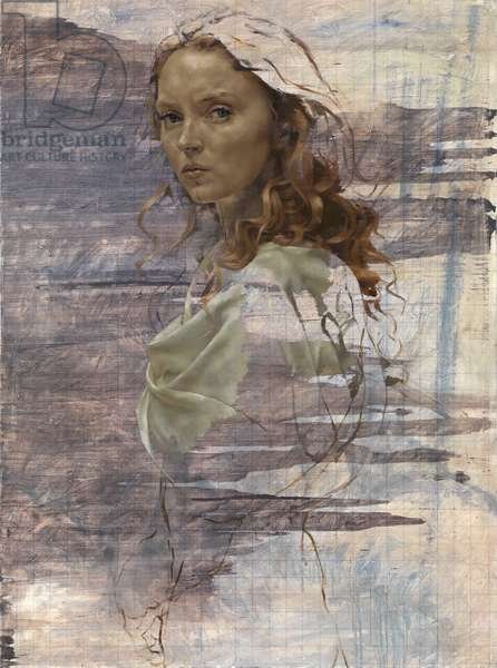 Lily Cole as Helen of Troy, 2014 (oil on canvas)