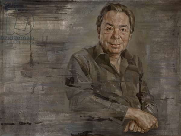 Andrew Lloyd Webber, 2008 (oil on canvas)