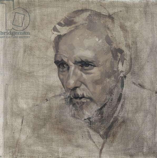 Dennis Hopper V, 2007 (oil on canvas)