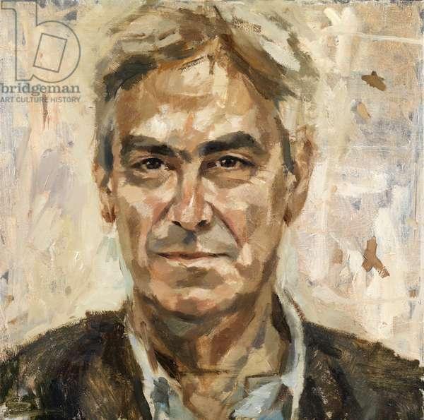 Martin Gayford, 2013 (oil on canvas)