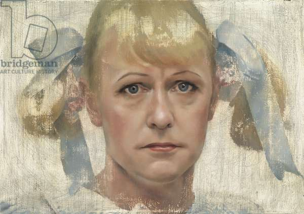 Grayson Perry (Study), 2005 (oil on canvas)