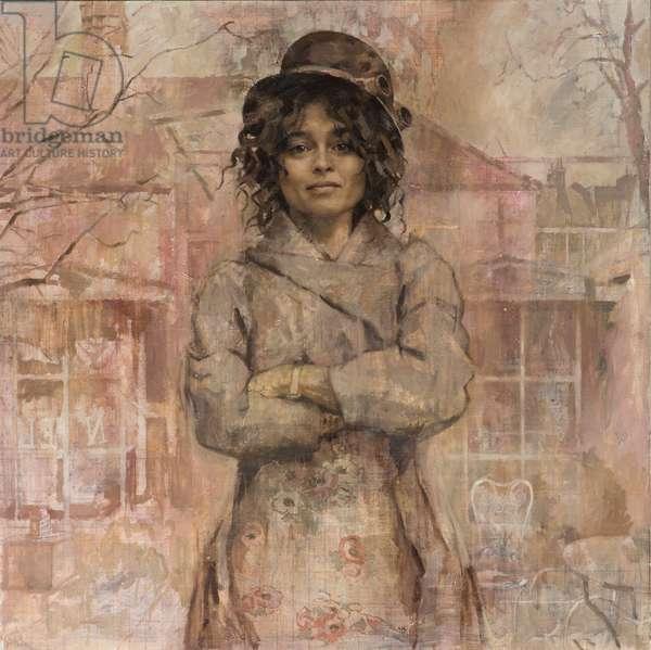 Helena Bonham Carter, 2013 (oil on canvas)