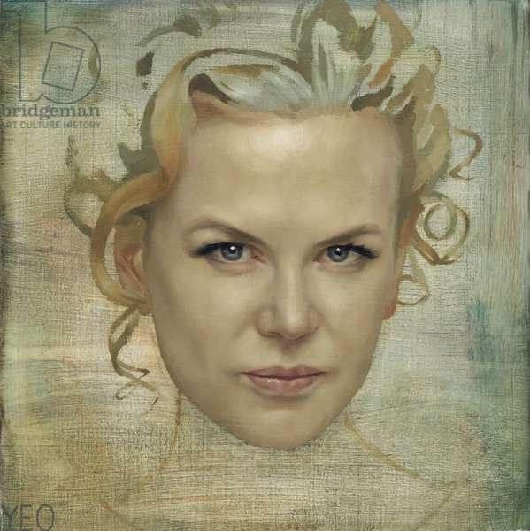 Nicole Kidman Study I, 2007 (oil on canvas)