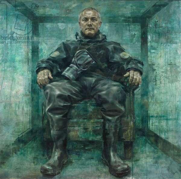 Damien Hirst, 2013 (oil on canvas)