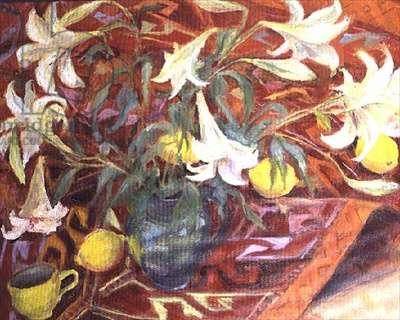White Lilies and Lemons