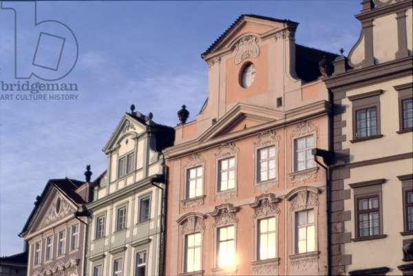 Old Town facades (photo)