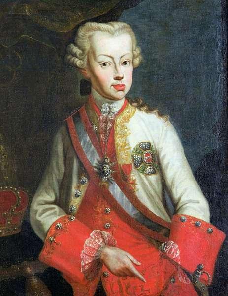 Portrait of Pietro Leopoldo di Lorena, c.1750 (oil on canvas)