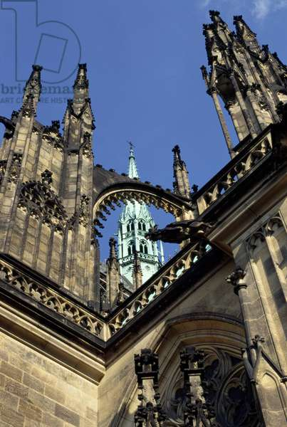 Cathedral of Saint Vitus, begun in 1344 (photo)