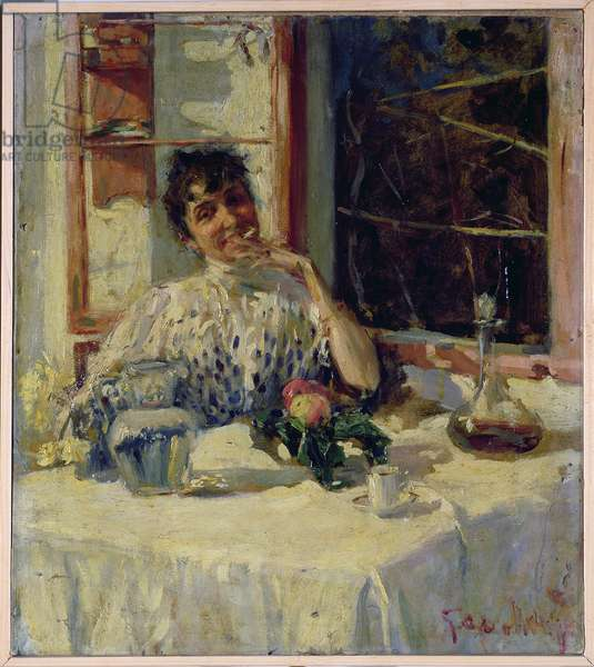 After Lunch at the Moncia, c.1900