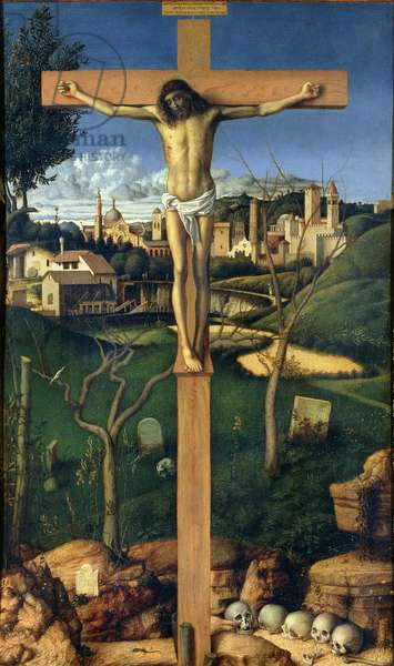 Crucifixion, c.1505 (panel) (for detail see 87046)