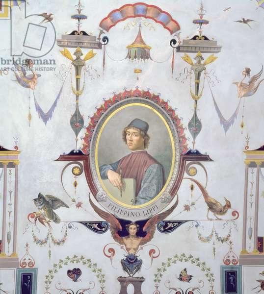 Portrait of Filippino Lippi (fresco)