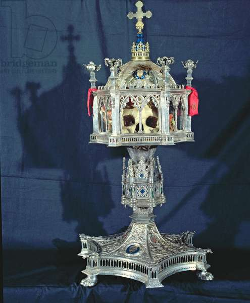 Reliquary of St. Barbara, 14th-15th century (silver)
