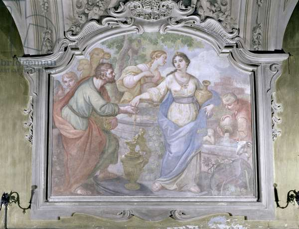 Rebecca at the Well, from the Refectory, 1753-54 (fresco)