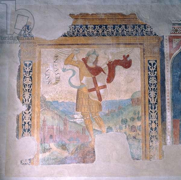 St. Michael (fresco)
