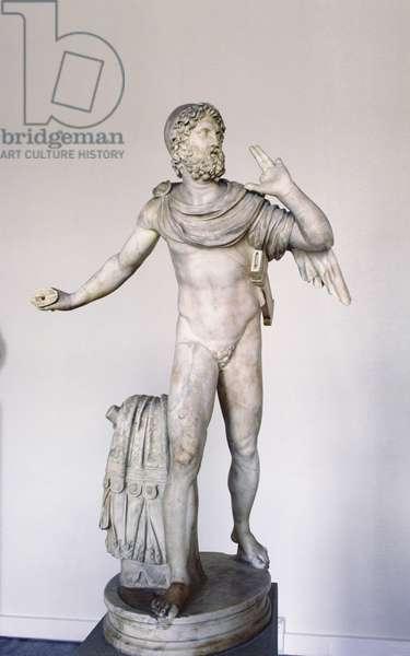Ulysses, Roman copy of 3rd century BC original of the Pergamo school, 1st century AD (marble)