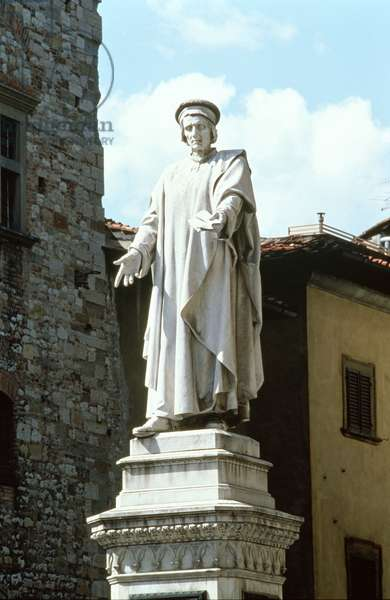 Monument to the merchant and benefactor Francesco Datini (c.1335-1410) by Nicolo Lamberti (c.1375-1451) 1409 (marble)