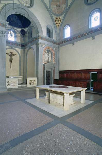View of the interior, built c.1420-29 (photo)