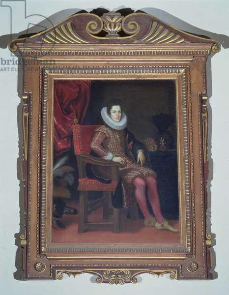 Portrait of Cosimo II de'Medici (1590-1621) (oil on canvas)
