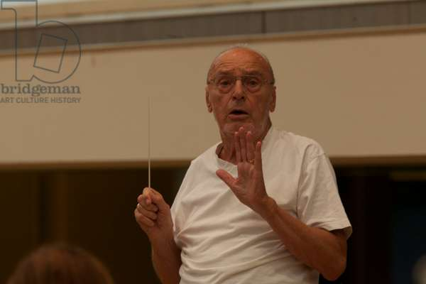 Michael Gielen conducting Mozarteum Orchestra