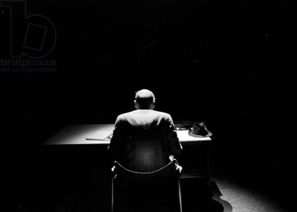 William S. Burroughs, Paris, 1977