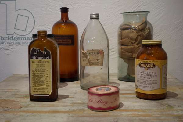 Frida Kahlo's medicine in her house in Mexico City, 2014