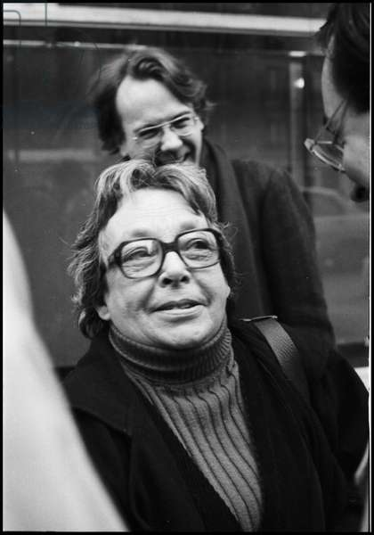 Marguerite Duras and Yann Andrea, 1981