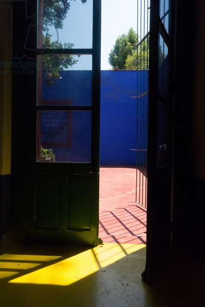 Frida Kahlo's house in Coyoacan, Mexico, D.F., 2014