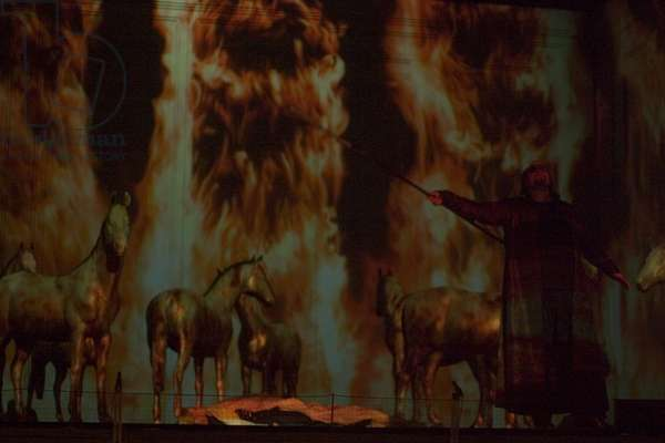 Final scene from Wagner's opera Valkyrie