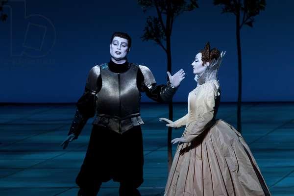 Scene from Monteverdi's 'L'Incoronazione di Poppea', 2014