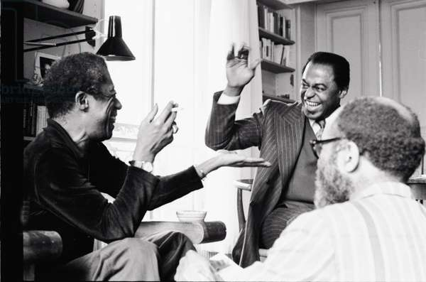 James Baldwin,  Archie Shepp and Ted Joans