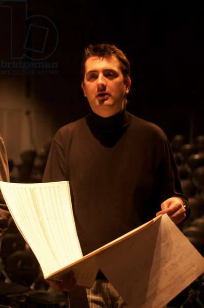 Bruno Mantovani - with musical score