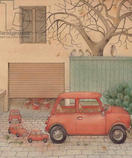 Automobile, 2005 (w/c on paper)