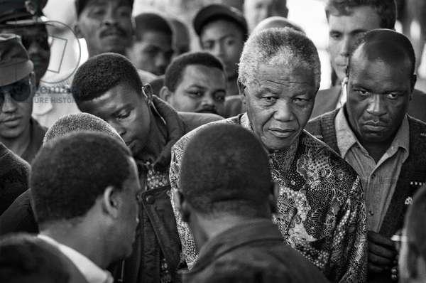 Surrounding Mandela