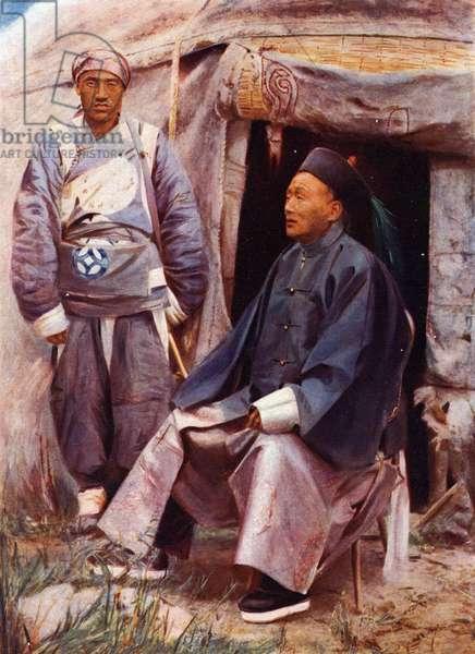 The Taotai of Kashgar, c.1910 (photo)