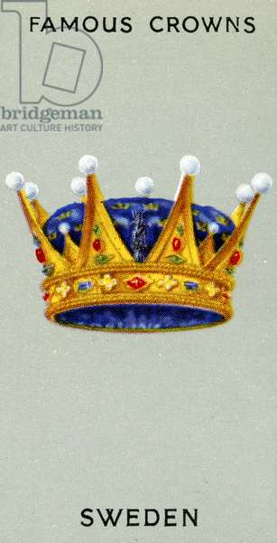 Swedish Crown, 1938 (colour litho)