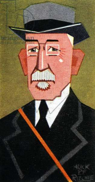 Lord Woolavington, 1926 (colour litho)