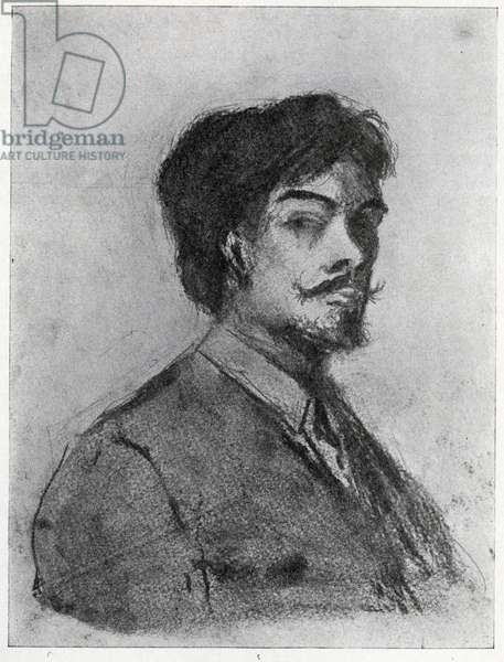 Henry Harland (charcoal)
